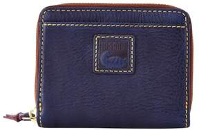 Dooney & Bourke Florentine Small Zip Around Wallet - NAVY - STYLE