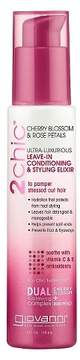 Giovanni 2chic® Cherry Blossom & Rose Petals Leave-in Conditioning & Styling Elixir - 4 oz