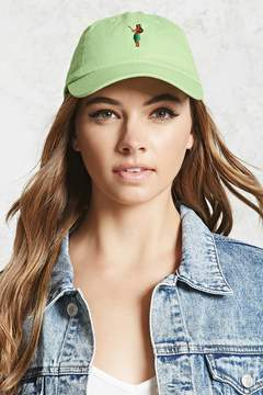 Forever 21 Hula Girl Dad Cap