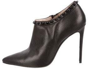 Barbara Bui Perforated Leather Booties