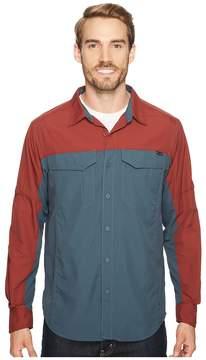 Columbia Silver Ridge Blocked Long Sleeve Shirt Men's Long Sleeve Button Up