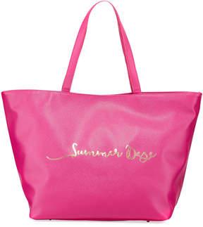 Neiman Marcus Summer Daze Printed Tote Bag