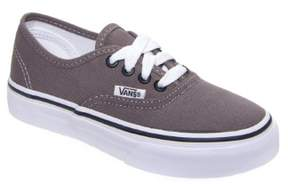 Vans Authentic Youth US 10.5 Gray Sneakers