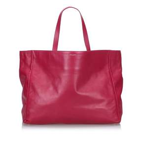 Saint Laurent Shopping leather tote - PINK - STYLE