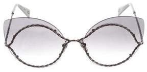 Marc Jacobs Rimless Cat-Eye Sunglasses