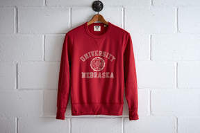Tailgate Men's Nebraska Crew Sweatshirt