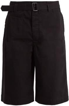 Lemaire Mid-rise straight-leg shorts