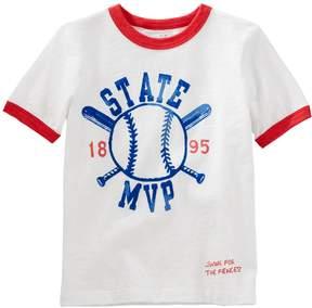 Osh Kosh Oshkosh Bgosh Boys 4-12 Baseball State M.V.P. Ringer Graphic Tee
