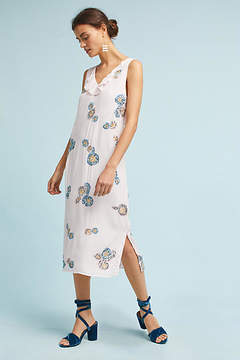 Cleobella Floral Sequin Column Dress