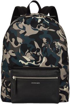 Alexander McQueen Skull Camo Backpack