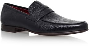 Stemar Crocodile Penny Loafers