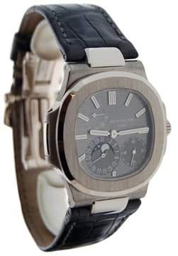 Patek Philippe Nautilus 5712G 18K White Gold Automatic Mens Watch