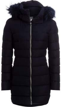 ADD Duck Down Wool Hooded Coat