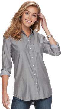 Apt. 9 Women's Poplin Shirt