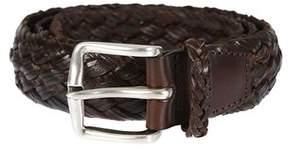Orciani Men's U07738ebano Brown Leather Belt.