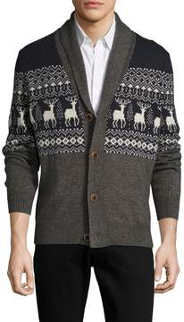 Life After Denim Men's Hunter Intarsia Cardigan