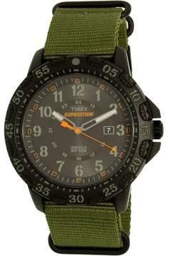 Timex Men's Expedition TW4B03600 Green Cloth Analog Quartz Fashion Watch