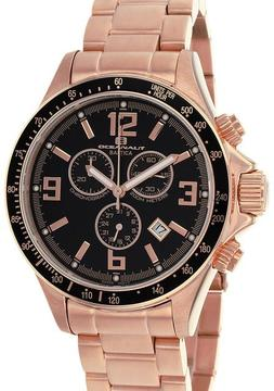 Oceanaut OC3329 Men's Baltica Rose Gold Stainless Steel Watch with Chronograph