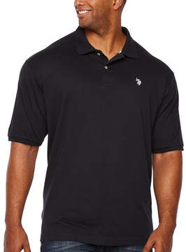 U.S. Polo Assn. USPA Embroidered Short Sleeve Pique Polo Shirt Big and Tall