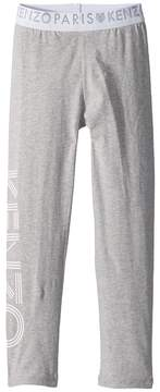 Kenzo Kids Logo Sweatpants Girl's Casual Pants