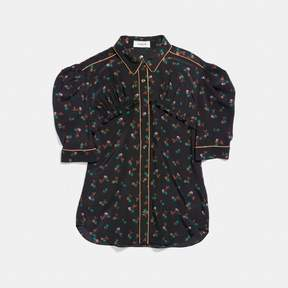 Coach New YorkCoach Gathered Front Shirt