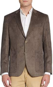 Saks Fifth Avenue BLACK Men's Classic-Fit Corduroy Sportcoat