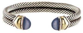 David Yurman Dyed Chalcedony Cable Bracelet