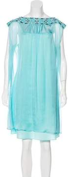 ALICE by Temperley Embellished Mini Dress w/ Tags