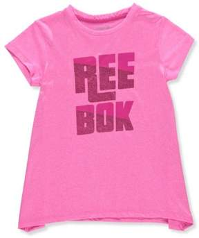 Reebok Girls' Performance T-Shirt - hthr pink, 8-10