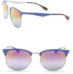 Ray-Ban Clubmaster Metal Frame Sunglasses