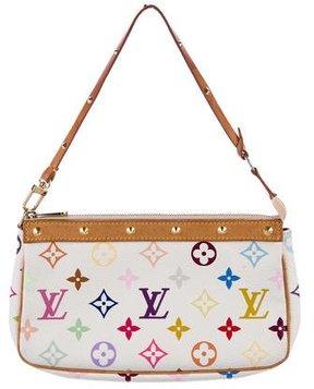 Louis Vuitton Multicolore Pochette Accessoires - WHITE - STYLE