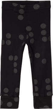 Nununu Black Braille Leggings