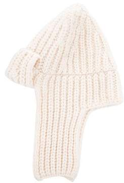 Stella McCartney Wool Rib Knit Hat