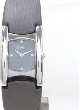 Ebel Beluga Stainless Steel 4point Diamond Quartz 19mm Womens Watch