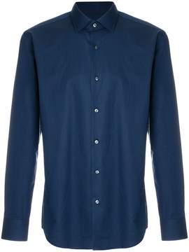 HUGO BOSS jacquard pattern shirt