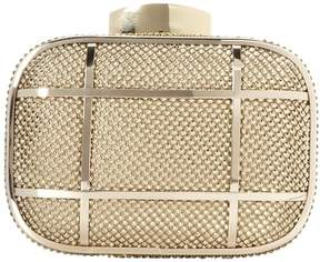 Whiting & Davis Cage Minaudiere 1-5854GL Clutch