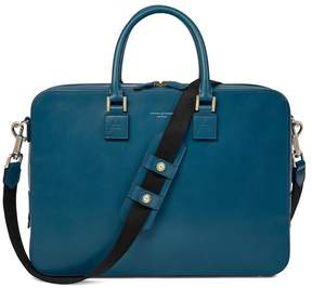 Aspinal of London Small Mount Street Bag In Smooth Topaz