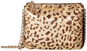 Betsey Johnson Third Times The Charm Haircalf Crossbody Cross Body Handbags