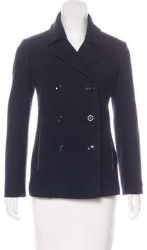 Armani Collezioni Virgin Wool Double-Breasted Jacket