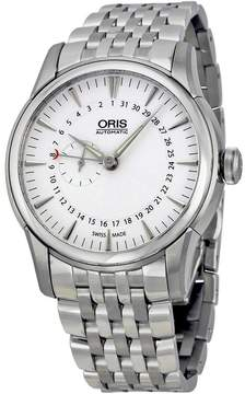 Oris Artelier Small Second Pointer Date Automatic Silver Dial Men's Watch 744-7665-4051MB