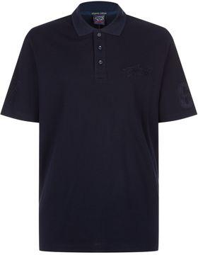 Paul & Shark Textured Shark Polo Shirt