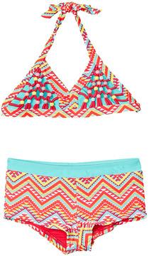 Vigoss Girls' Tribal Girls 2Pc Swimsuit