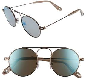 Men's Givenchy 48Mm Retro Sunglasses - Brown