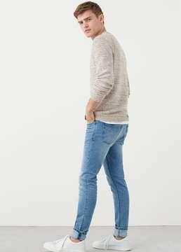 Mango Outlet Skinny light wash Jude jeans