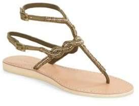 Cocobelle Nevis Embellished Thong Sandals