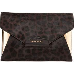 Givenchy Pony-style calfskin clutch bag