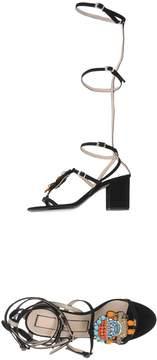 N°21 Ndegree 21 Toe strap sandals