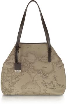 Alviero Martini 1A Classe Geo Printed Large 'New Basic' Shoulder Bag