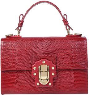 Dolce & Gabbana Lucia Handbag - RUBINO - STYLE