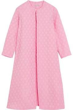 Emilia Wickstead Helen Oversized Cotton-Blend Cloqué Coat